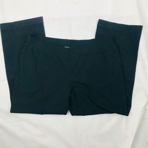 Talbot's Black Stretch Waist Pants Size 2XP